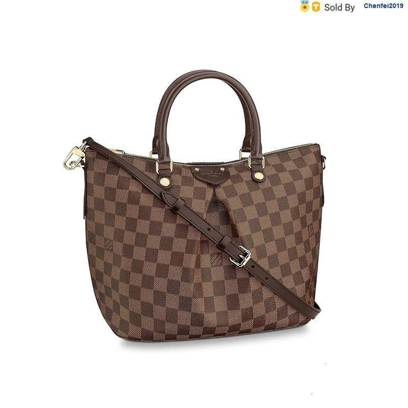 chenfei2019 O9RN Siena Brown Shoulder Strap Shoulder Bag N41546 Totes Handbags Shoulder Bags Backpacks Wallets Purse