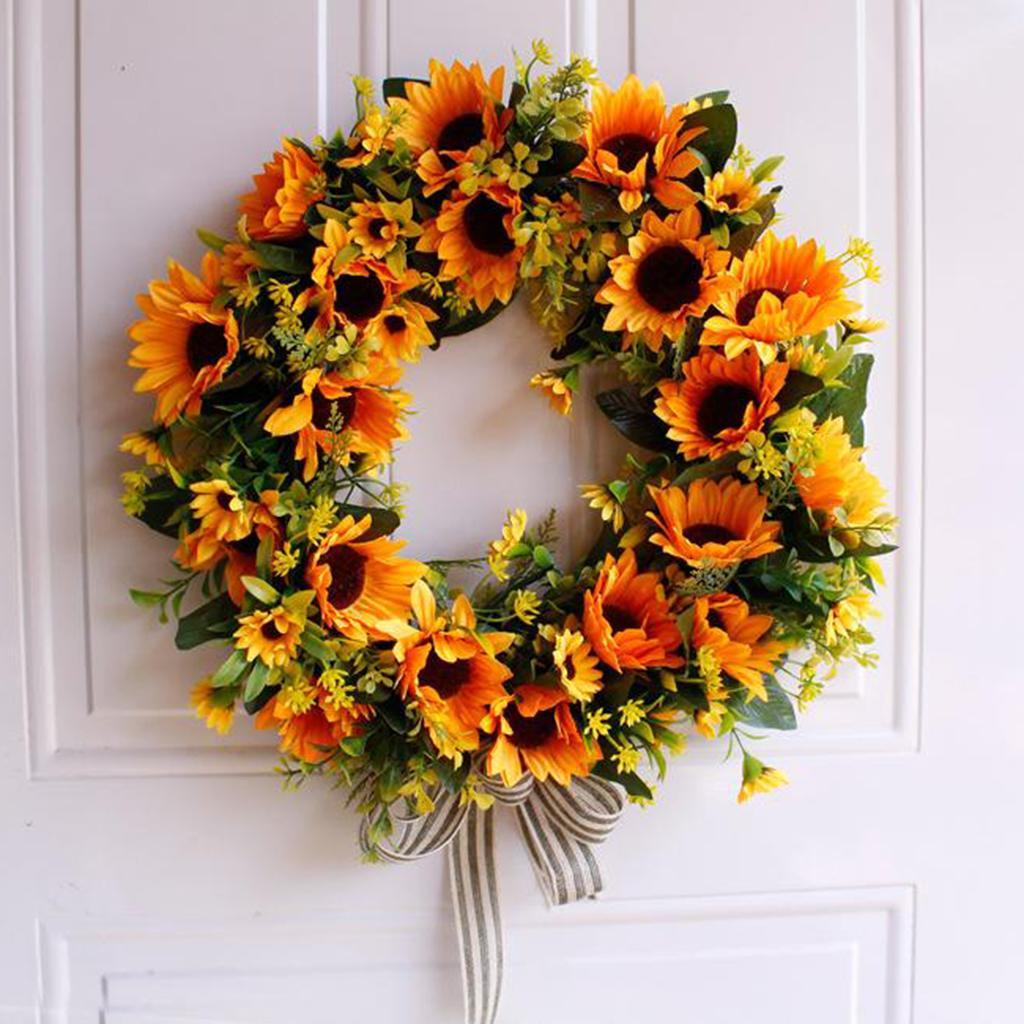 2021 Wreath Flower Wreaths For Front Door 16 Front Door Wreath Home Decor For Window Wall Party Wedding Valentines Day Hanging Decorations From Zeyuantrading 21 29 Dhgate Com