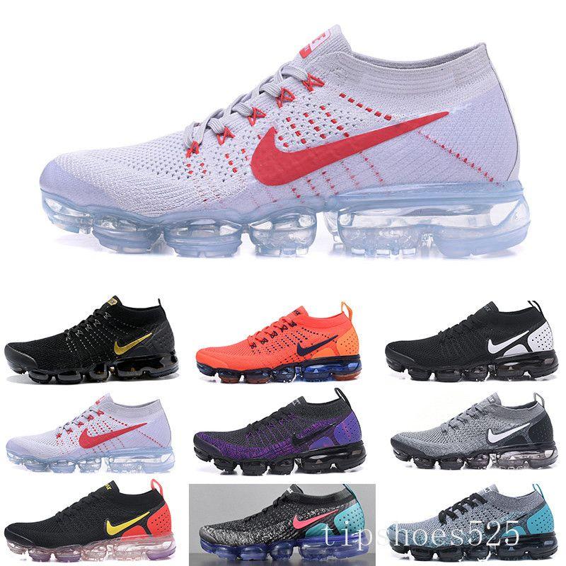 2019 Fly 2.0 Siyah Çok renkli koşu ayakkabıları erkek CNY Safari yarışçı mavi Tasarımcılar spor ayakkabılar gece yarısı mor lacivert eğitici womens TYJ9K