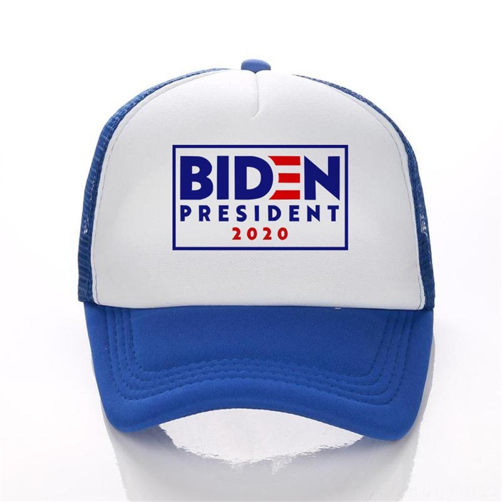 Boné de beisebol HaJLP ajustável Biden americano Malha 2020 Hat presidente Eleição de beisebol bordado Carta Joe Snapback Hat