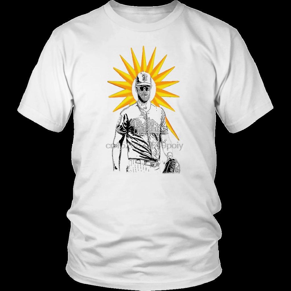 Harajuku Streetwear camisa de los hombres Harper - Harajuku Streetwear camisa de los hombres del sol camisa de Phillies
