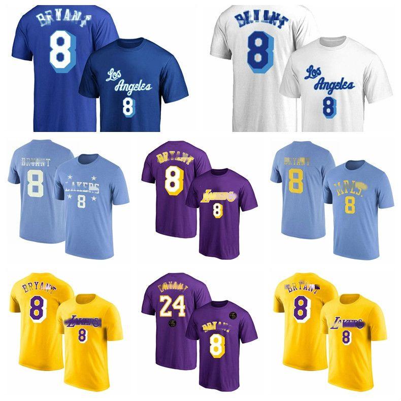 2020 2020 Los Angeles 13 Lakers 13 Kobe 13 Bryant 13 Mens Throwback Jersey 8 Swingman 24 Yellow Basketball T Shirt Purple Good From Pink Panther 23 36 Dhgate Com