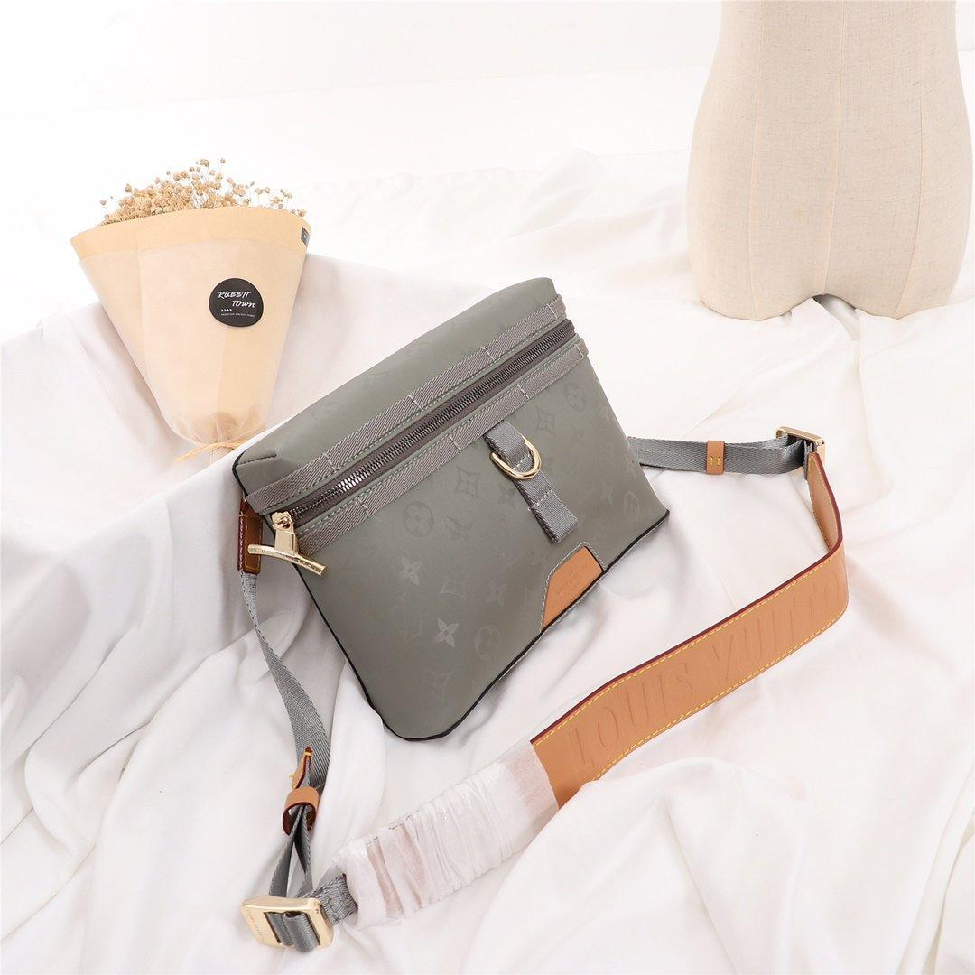 Drop Ship Herren Taschen Qualitäts-Leder Vintage-Lunkal Messenger Bag Zipper Schultertasche Trend Typ Herren Schultertasche Bolsa De Hombro