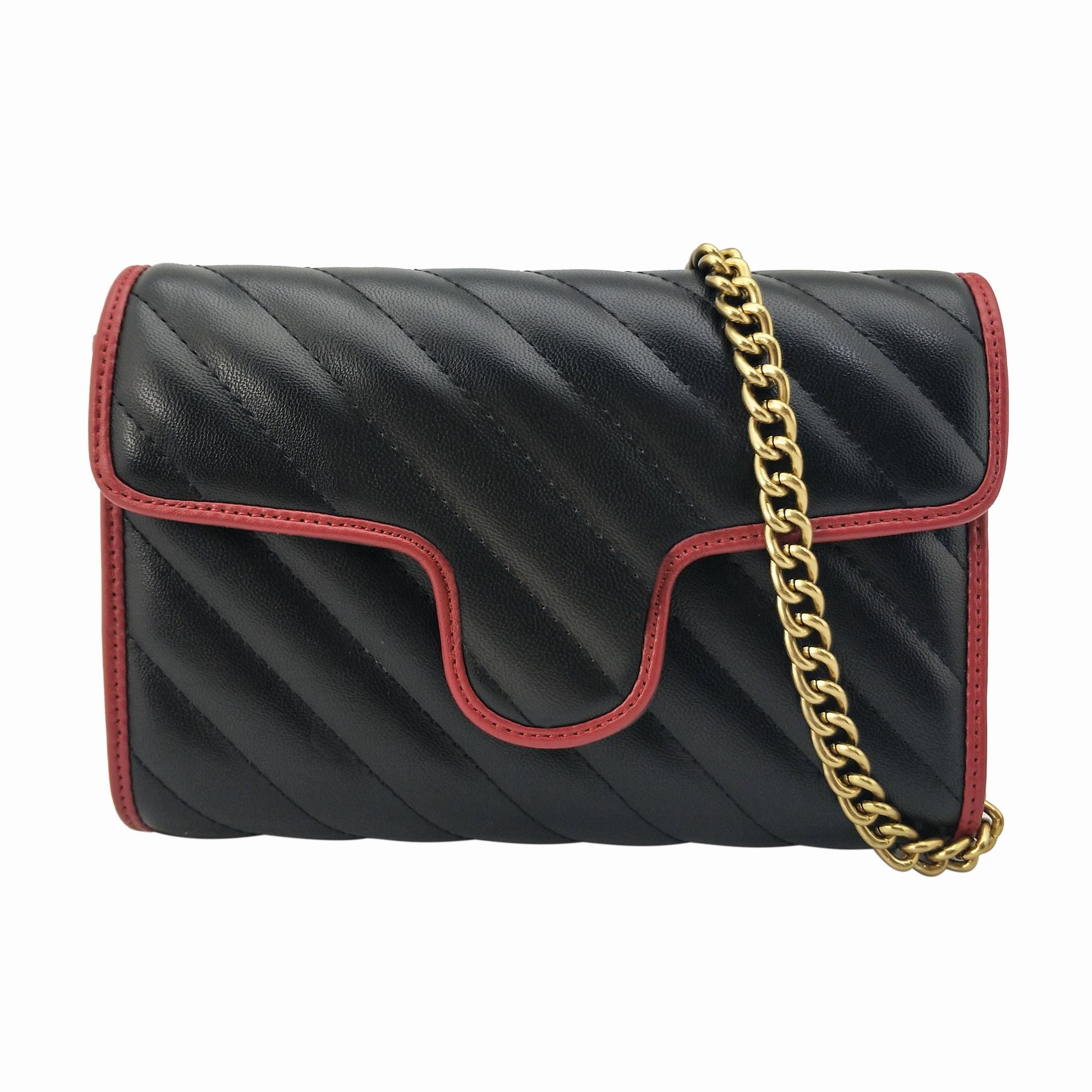 Moda Kadın Omuz Çantaları Altın Zincir Çapraz Vücut Çanta PU Deri Çanta Çanta Kadın Messenger Çanta Tote Cüzdan 443497 Sacs à Ana