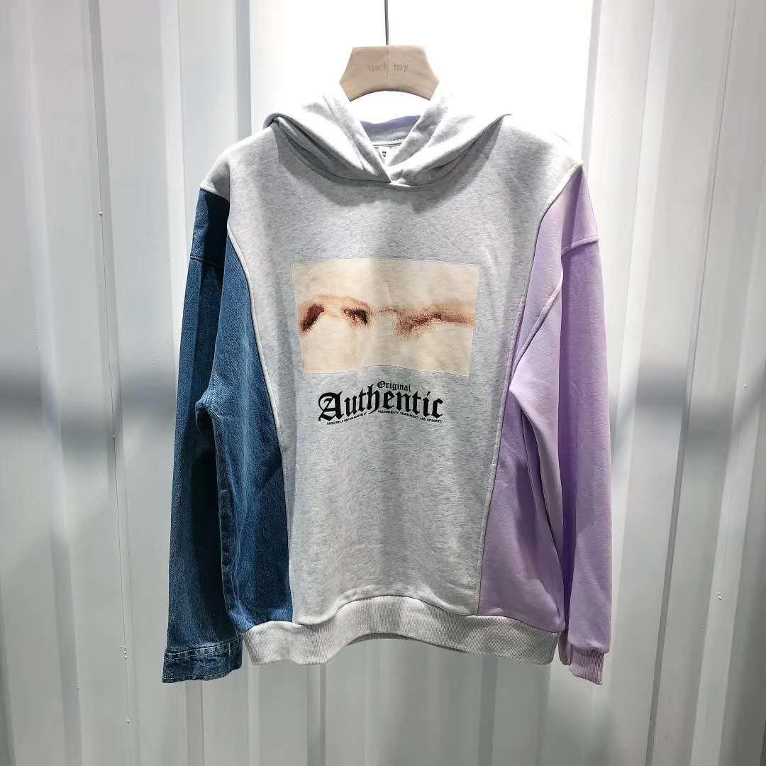 2021sup Designer colour Men Hoodie Sweatershirt Sweater Mens Hoodies Luxuryt Clothing Thin Long Sleeved Youth Movements Brands Streetwear
