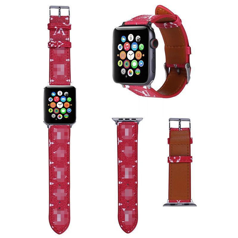 Cinturino Coppie marea cinturino Paris Fashion salone del lusso per il 38/40/42/44 millimetri progettista di cuoio astuta dell'unità di elaborazione Apple Watch cinturini 2071508B