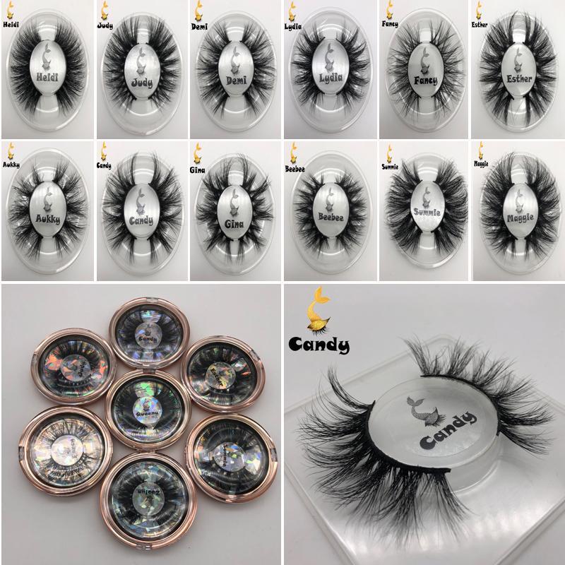 Ankunft neue 3D-Mink Wimpern Dicke echte Nerz Haar falsch Wimpern Wimpern Make-up Verlängerung falsche Wimpern 21 Styles