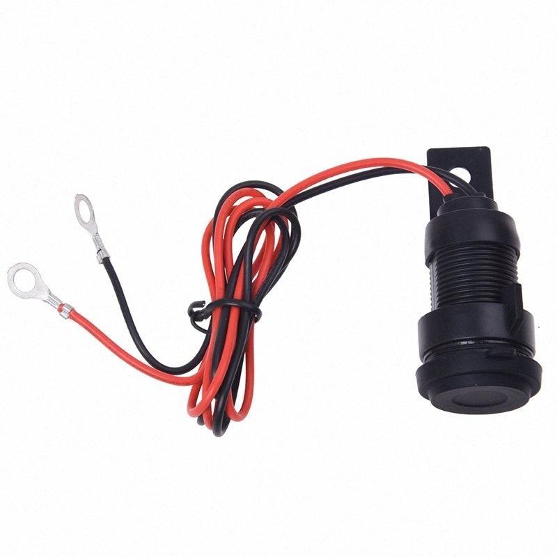 Moto Şarj USB 12V Çakmak Siyah Su geçirmez AgvB #