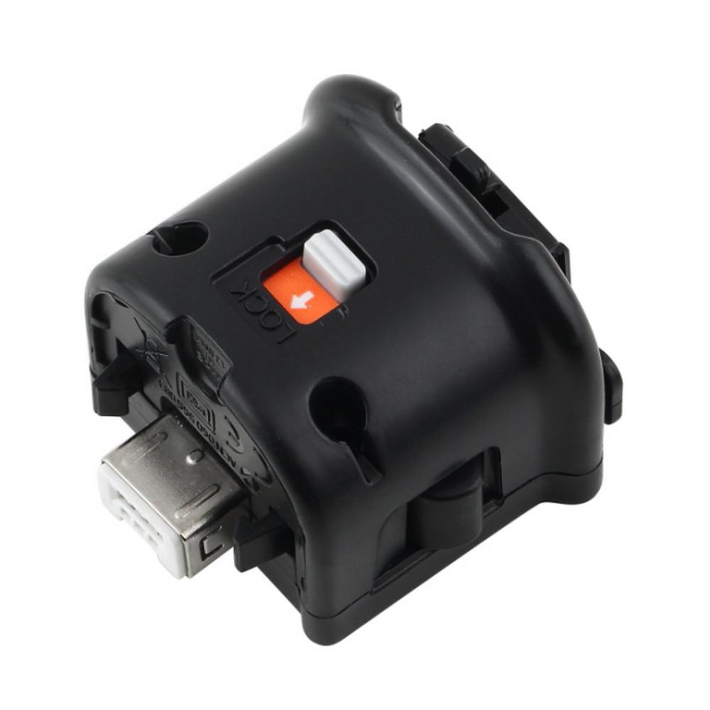 Ускоритель MotionPlus Motion Plus Датчик адаптер для Nintendo Wii консоли Remote Nunchuk Wireless Wiimote Controller Enhanced Черный Белый