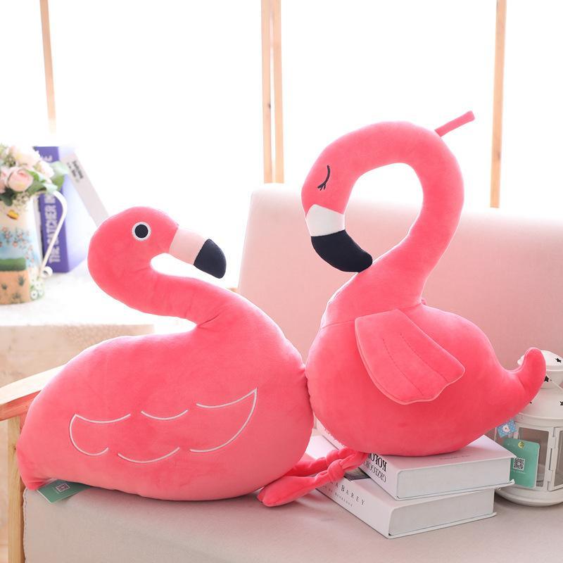 New INS amor para baixo Cotton Flamingo boneca Software Flamingo travesseiro almofada presentes Meninas do Natal