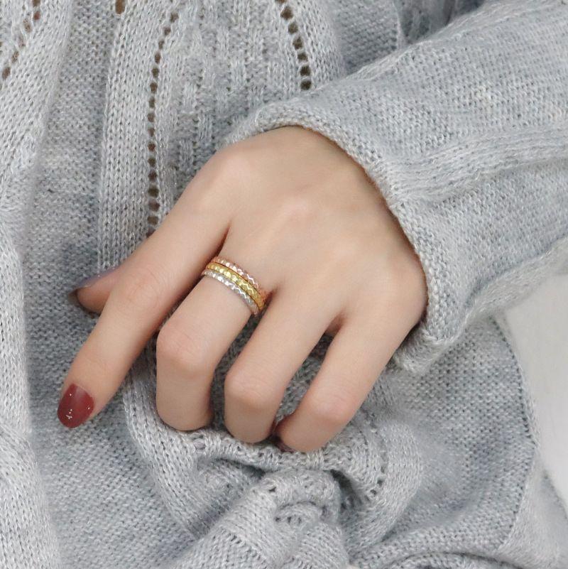 Jóias 2020 / Luxury Designers Sterling Silver Ring Feminino criativa coreano estilo aberto menina simples anel Student