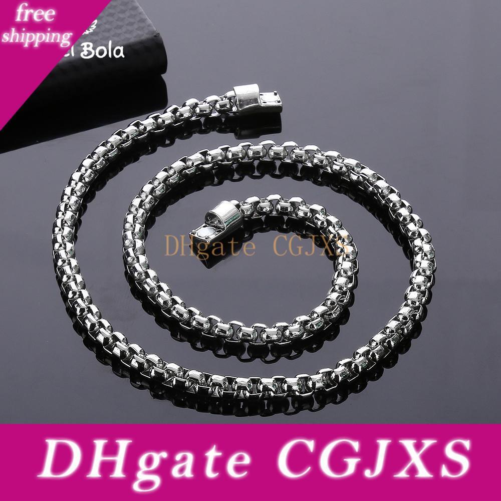 Chains Homens de Moda de Nova de bestsellers Varejo Atacado moda jóias colares Plano Buddha colares presente de prata homens da Antiga
