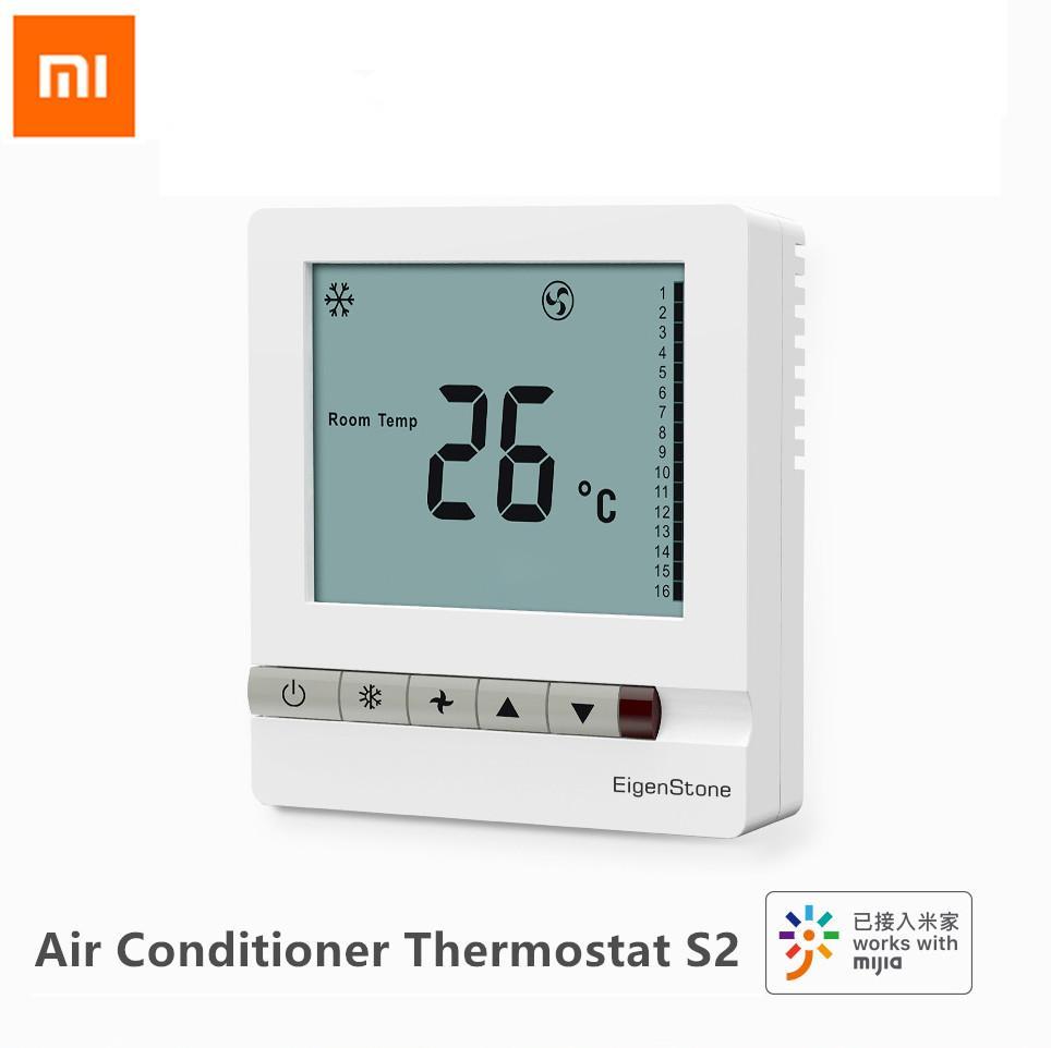 Xiaomi Aqara EigenStone Smart Air Conditioner Thermostat S2 Refroidissement Chauffage Pour Climatisation centrale contrôle du ventilateur Température