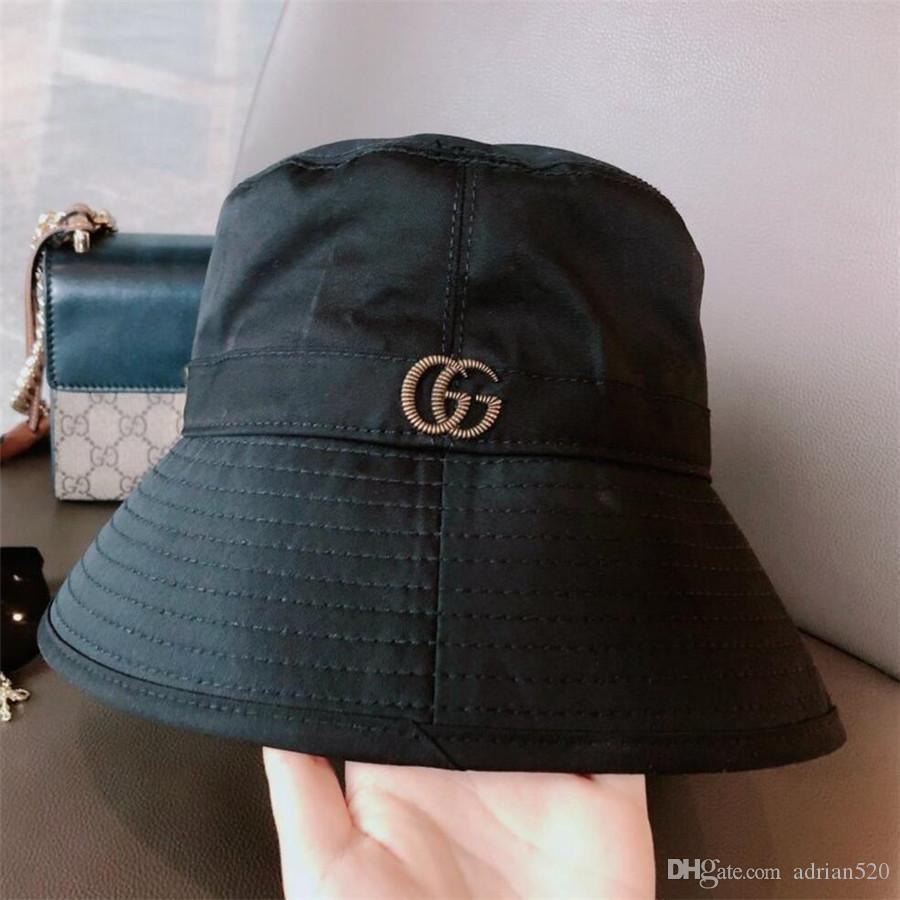 cappello da sole 2021 Nuovo cappello pescatore del cappello della benna di lusso della moda di alta qualità di viaggio classico per gli uomini e le donne A11