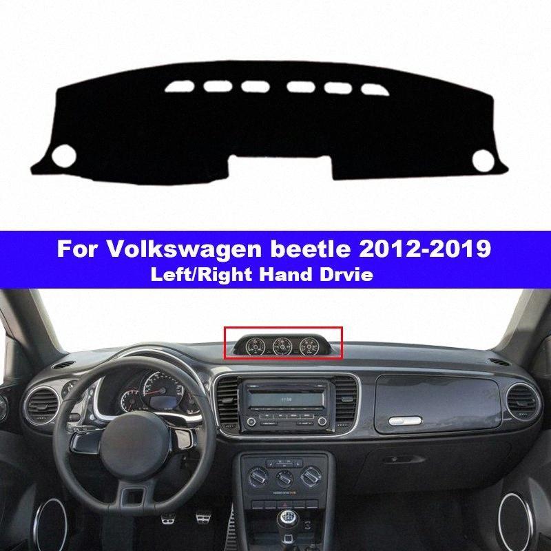 Car Dashboard Cover Dash Mat Carpet For VW Beetle 2012 2019 LHD RHD Auto Dashmat 2013 2014 2015 2016 2017 2018 JKrW#
