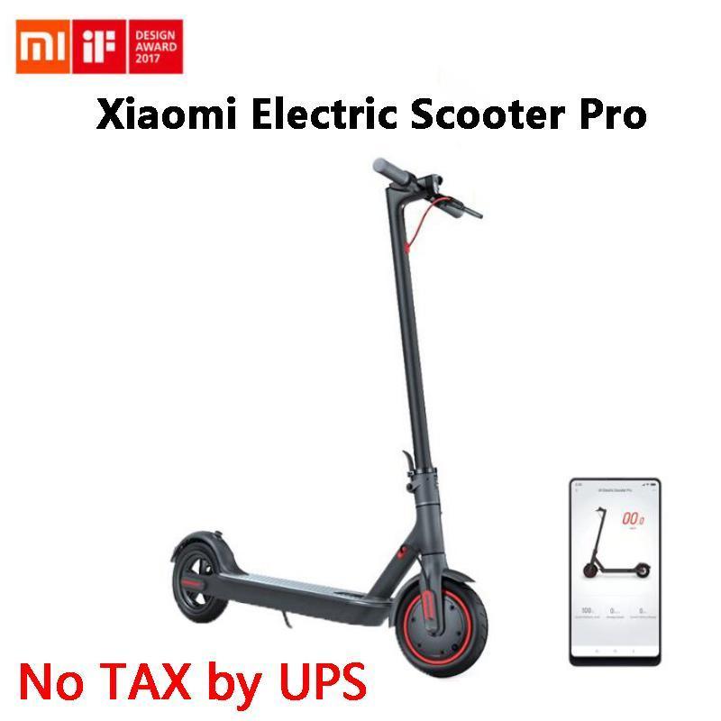 Xiaomi Mi youpin Scooter électrique M365 Pro intelligent E Scooter Mini Planche à roulettes pliable Hoverboard Longboard adulte batterie 45 km