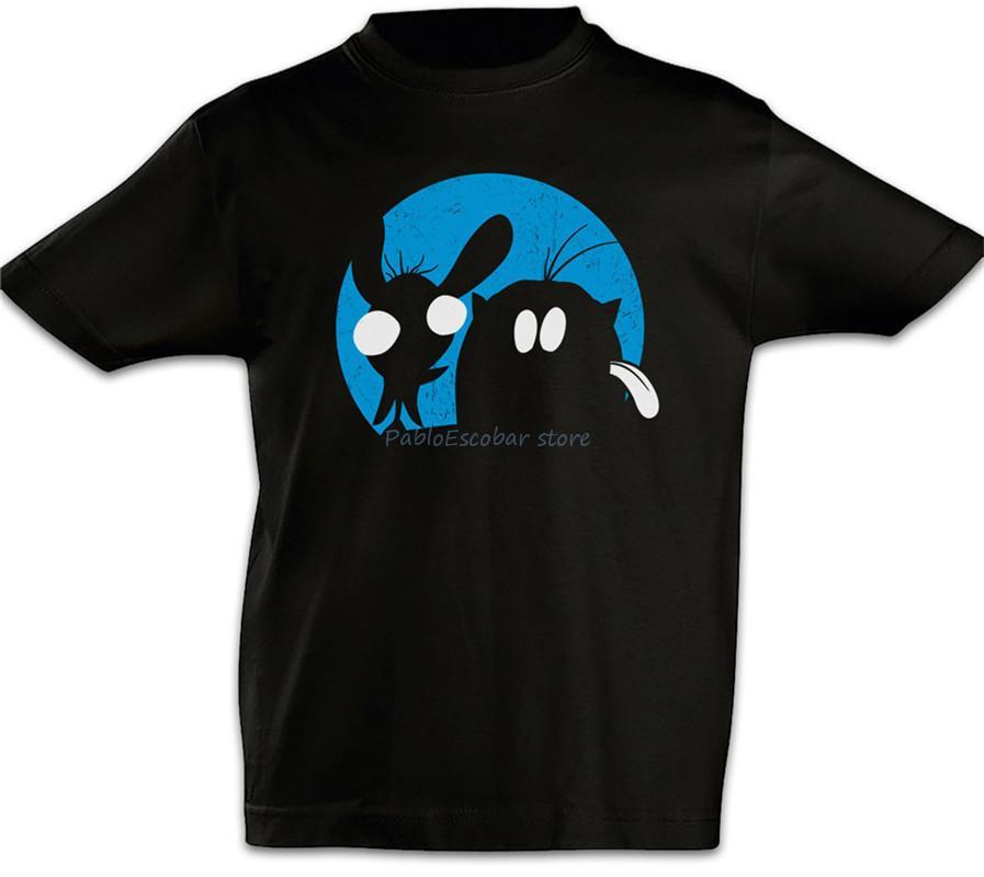Ren Enfants Garçons T-shirt Stimpy et populaire T-shirt shubuzhi marque tshirt hommes été tshirt Hauts pour hommes de taille plus