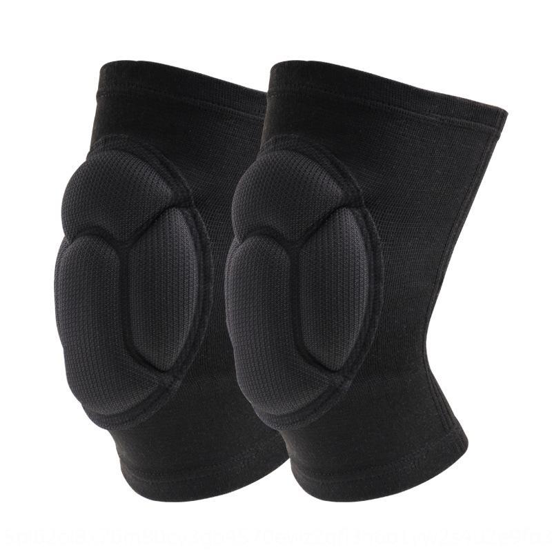 De alta densidad de esponjas bailar anticolisión anti-deportes de la caída anticolisión para rodilleras de voleibol bailar patinaje traje de rodillera