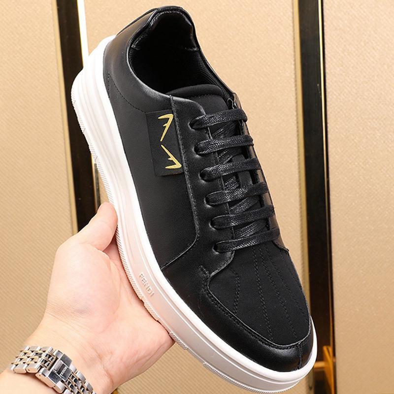 Entrega rápida Sapatos Masculinos Novo 2020 caminhada ao ar livre respirável sapatos Chunky Sneakers Lace -Up Plus Size Casual Shoes Scarpe Da Uomo