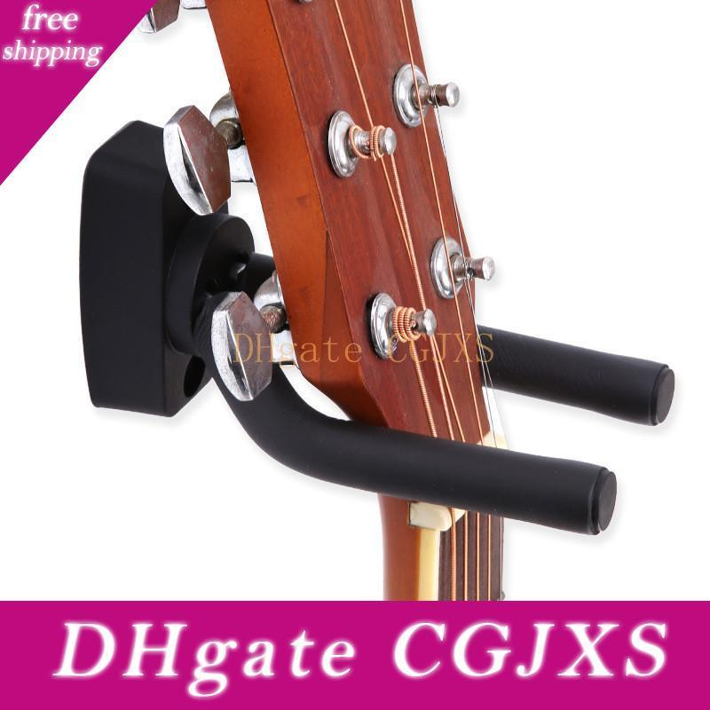 Suspensión de la guitarra soporte de montaje en pared Fit sostenedor del gancho para Bajo Ukulele y Instrumentos Musicales Más
