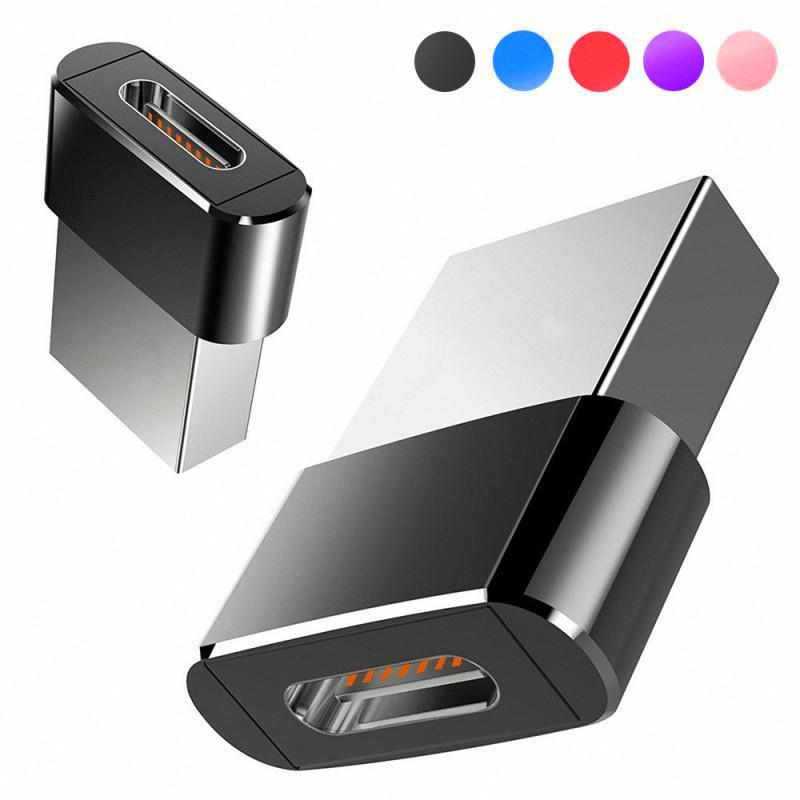 Matal USB-Stecker auf USB Typ C Female OTG-Adapter-Konverter Typ-C-Kabel-Adapter für Nexus 5-fach 6p OnePlus USB-C-Daten-Aufladeeinheits