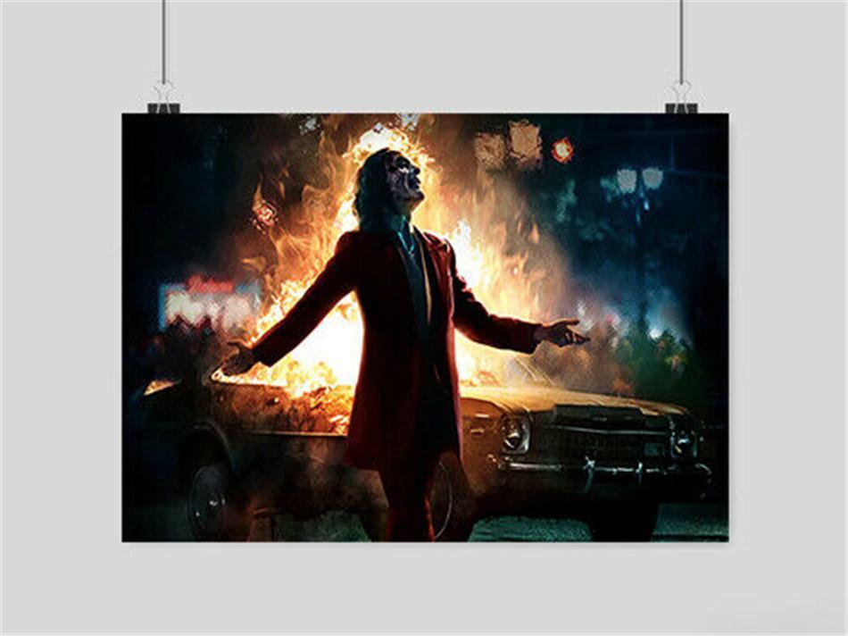Joker Joaquin Phoenix Film -5, HD-Leinwand-Druck neue Hauptdekoration-Kunst-Malerei / (Unframed / Framed)