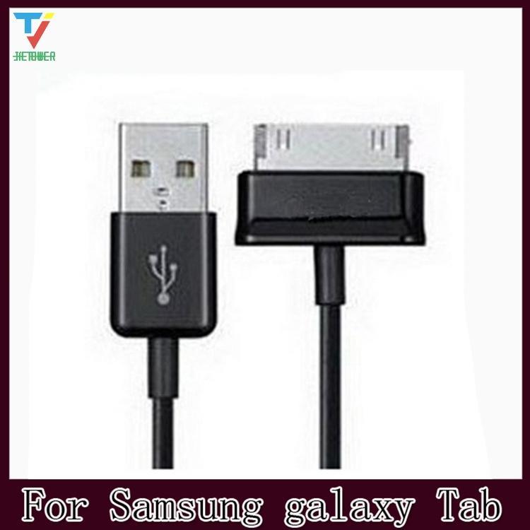 100PCS / 많은 100 만 USB 데이터 충전기 케이블 Adapterl 삼성 갤럭시 탭 2 3 태블릿 10.1 7.0 P1000 P1010 P7300 P7310 P7500
