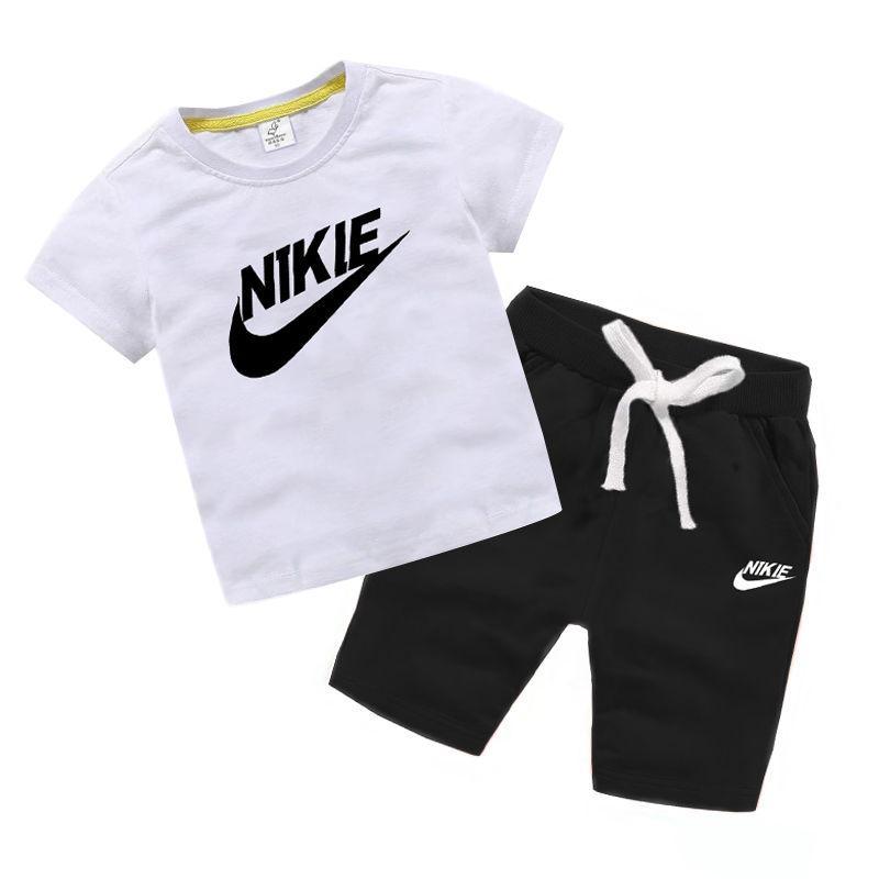 2020 HOT vendita classica di nuovo stile di 2-13 anni per bambini abbigliamento per ragazzi e ragazze di sport del vestito infantile del breve i vestiti manica Bambini Set bd7se