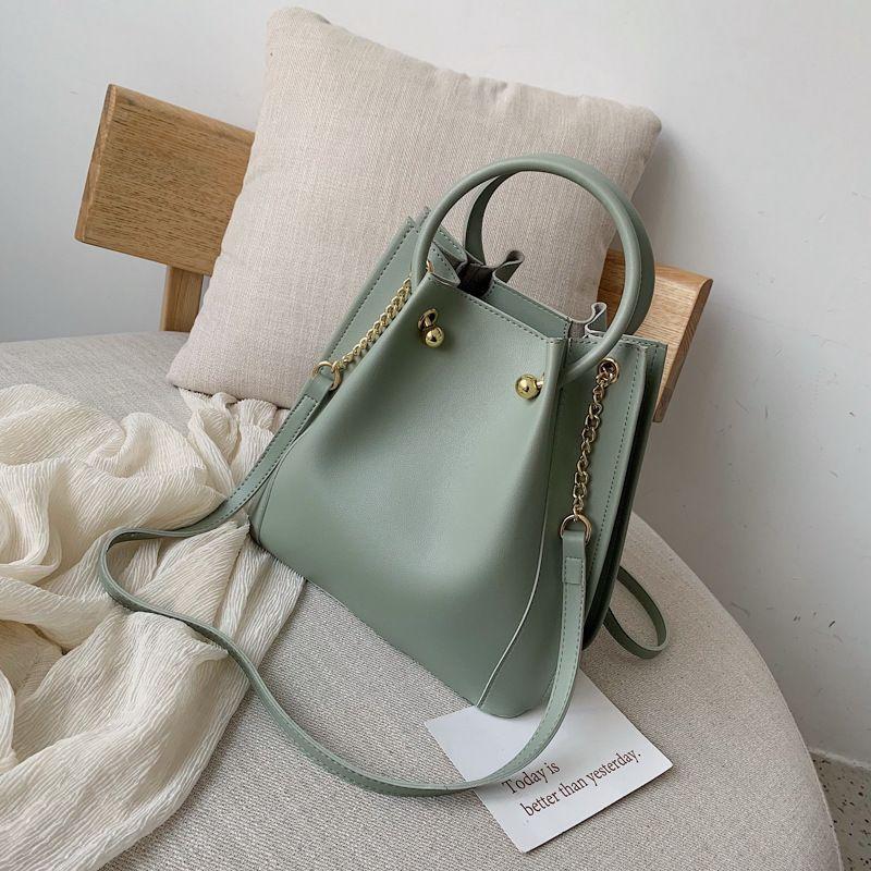 bolso de hombro de la PU cuero de la señora bolso de la señora famoso diseño de la marca de moda bolso de señora