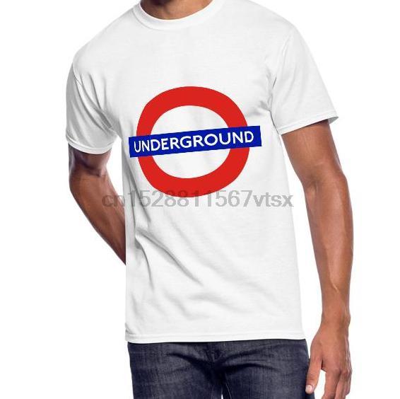 Les hommes tshirt London Underground - T-shirt pour hommes 5050 (1) imprimé tees T-shirt haut