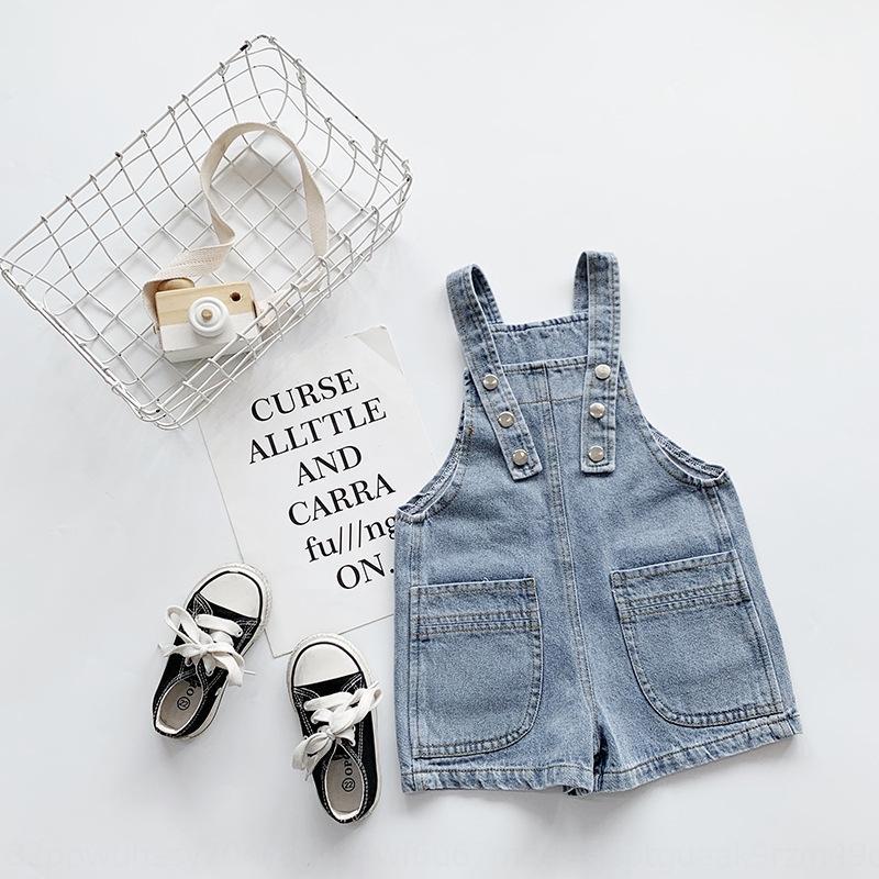 vêtements pour enfants coréens short en jean 2020 nouveau bébé garçons pantalons occasionnels enfants pantalons casual vente chaude