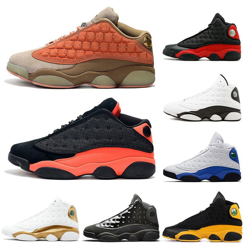 Men Wheat Terracotta Blush Basketball Shoes 13s Top Quality Black Infrared Cat Playoff He Got The Game Chicago Hyper Royal Trainers US5.5-13