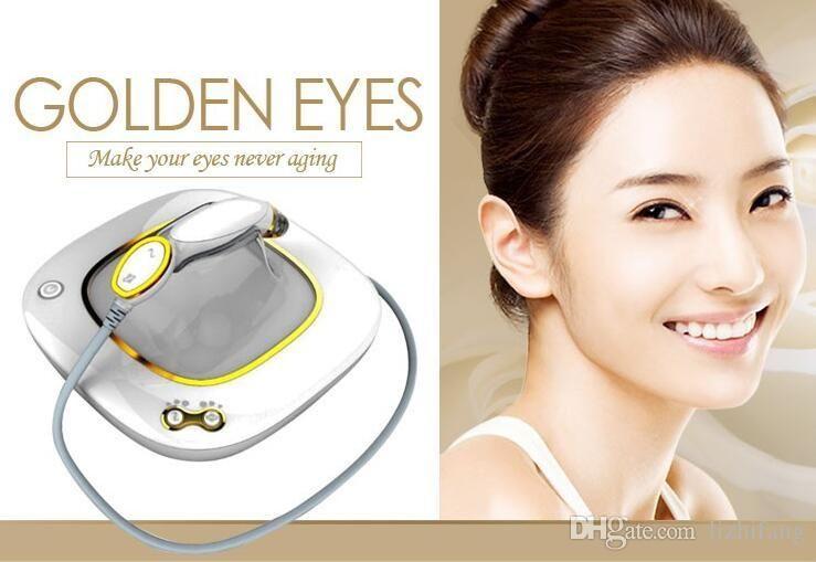 Venda quente profissional vibração RF olho massageador máquina caneta massagem de cuidados de olho olho para olheiras remover olhos dourados eliminar
