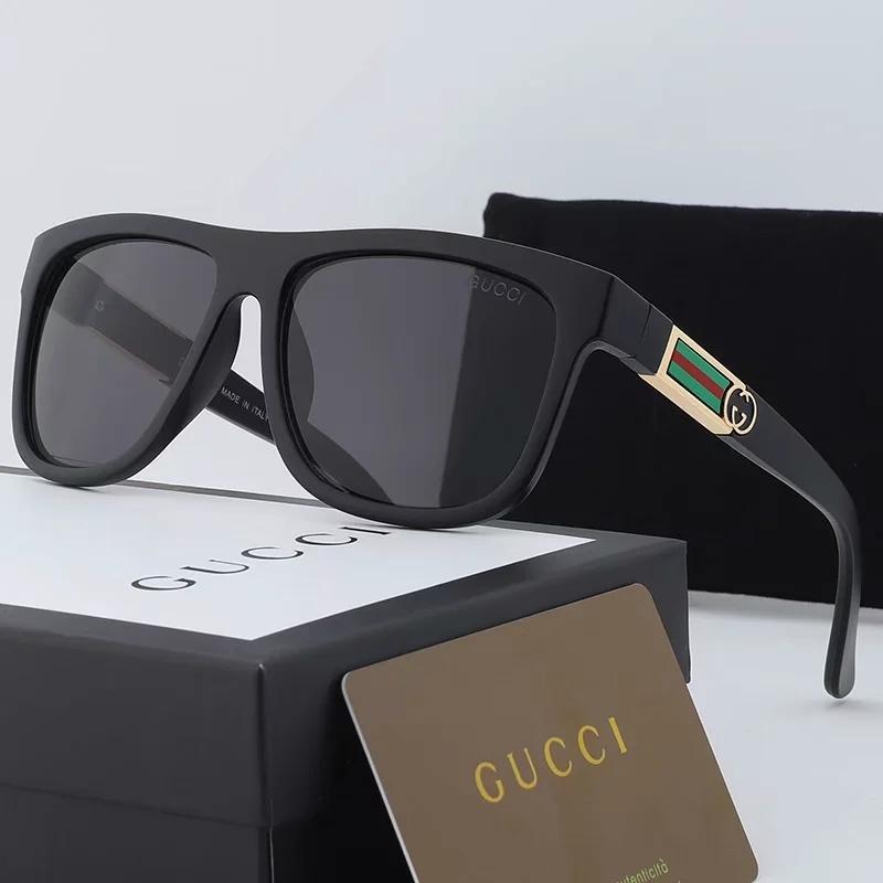 Gucci mens occhiali da sole firmati progettista delle donne occhiali uomini oversize des lunettes de soleil occhiali da sole aviator gatto polarizzato occhio TQ2
