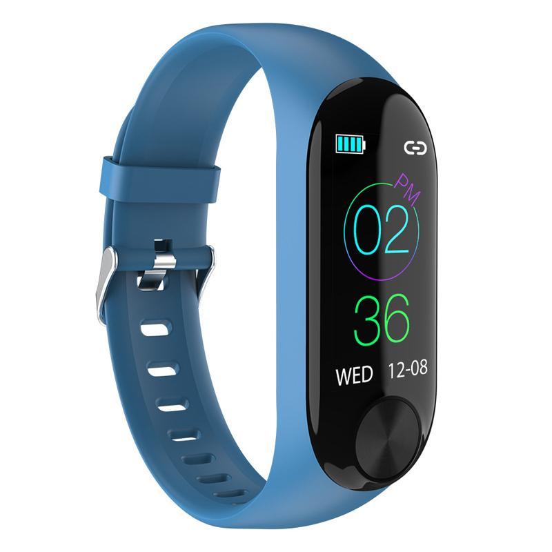 Nouveau Smart Bracelet Hommes Femmes Moniteur de fréquence cardiaque Pression artérielle Fitness Tracker Wristband étanche pour Android IOS Sport Band