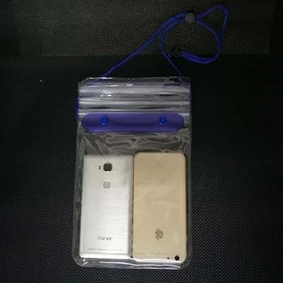 Grande telemóvel transparente capa protetora saco impermeável capa protetora nadando à deriva saco impermeável telefone celular