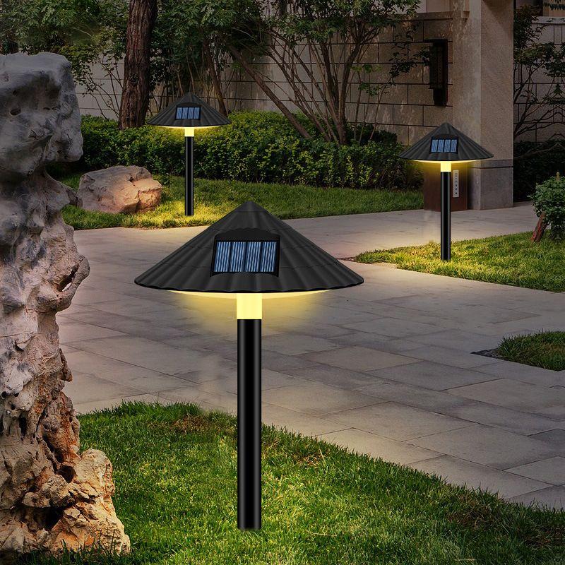 새로운 스타일의 태양 야외 조명 정원 정원 빌라 방수 장식 잔디 플러그 램프 1 개 10,191