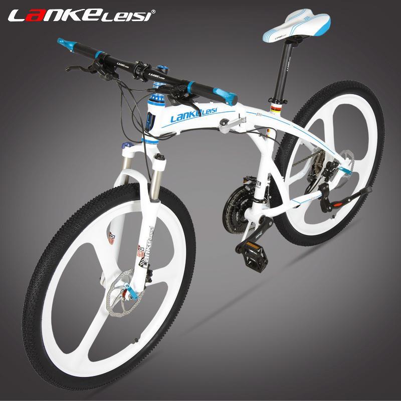 P8 Folding Mountain Bike 26 Inch 27 Speed Oil Disc Brake Integrated Spoke Wheel Mtb Portable Bicycle Suspension Fork Folding Bikes Girls Bikes From Skyfutune 1 607 04 Dhgate Com
