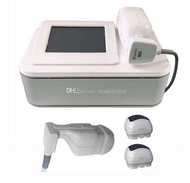 Portable Liposonix HIFU High Intensity Focused Ultrasound Liposonix Cellulite Reduction Slimming Machine With 8MM 13MM Liposonix Cartridges