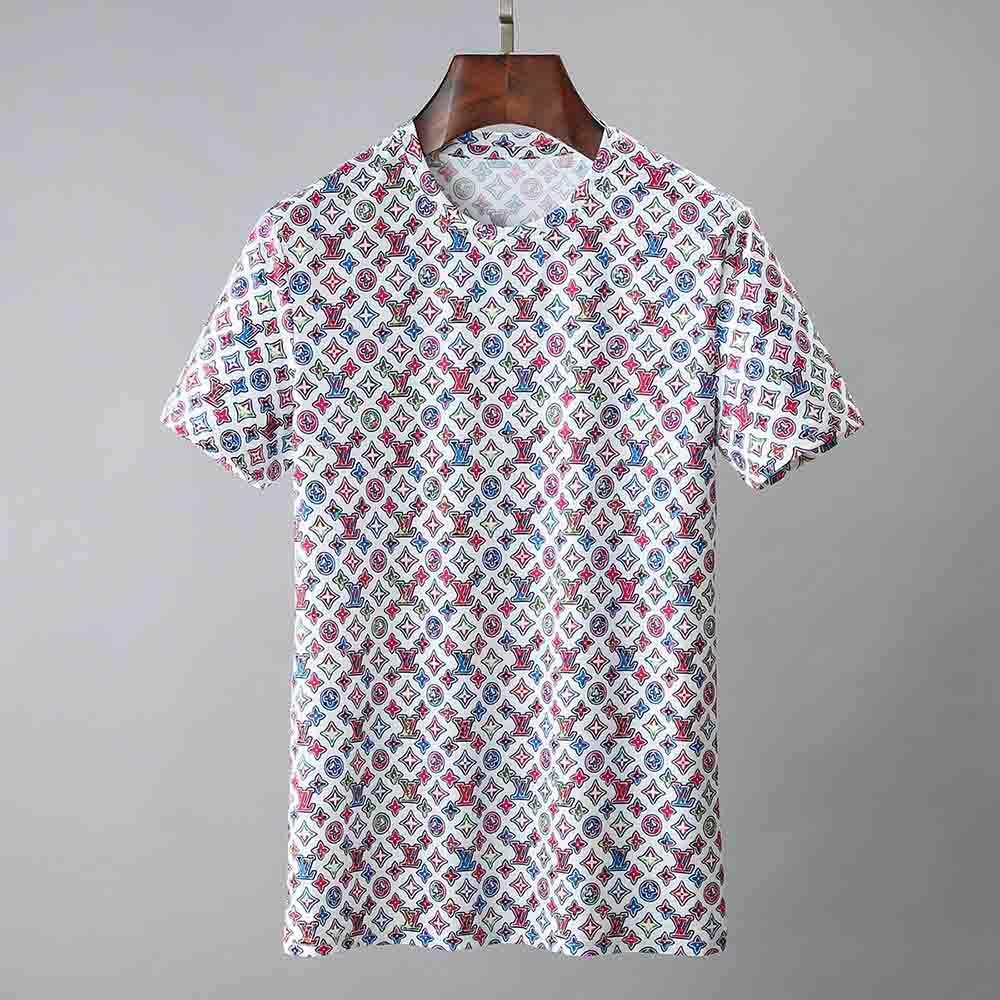 Designer T-shirt dos homens camisetas Top Qualidade de Moda de Nova Maré Calçados Impresso homens camiseta T-shirt Tops homens camiseta múltipla Cor selecionável 20