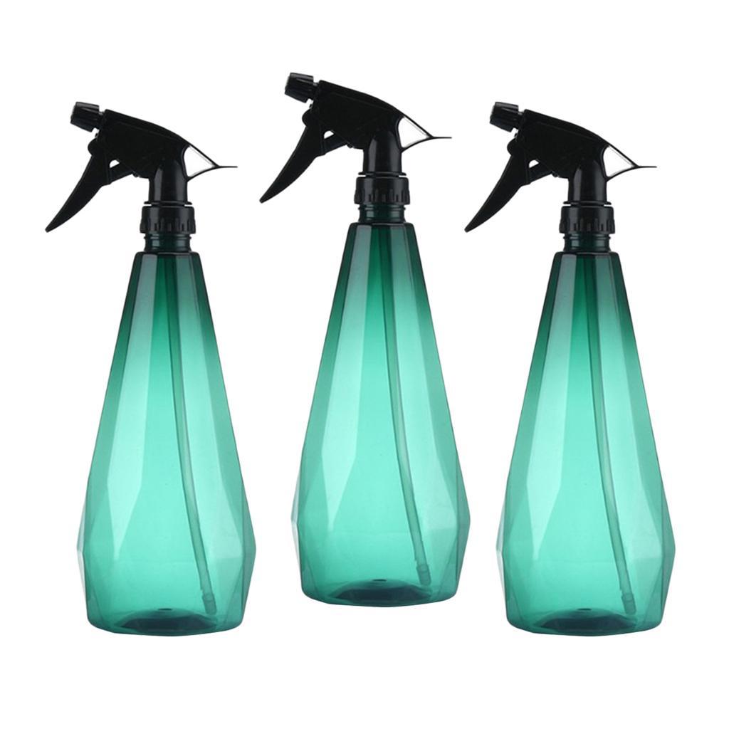 3pcs aerosol vacío Planta de activación de Mister botella de agua para las flores las plantas verdes