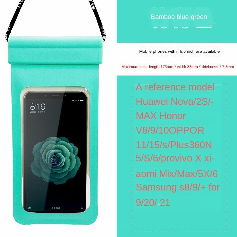 idAKU New phone mobile phone waterproof bag waterproof bag diving cover touch screen HuaweiUniversal swimming drifting underwater photo hang