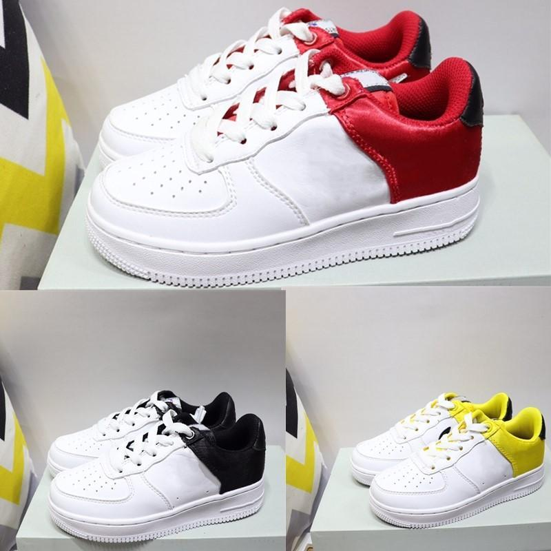 2020Infant LV8 1 GS Forth One Kids Running Shoes Red Satin Amarillo Gold White Black Children Sneakers Boy Girls Toddler Trainersmens womens