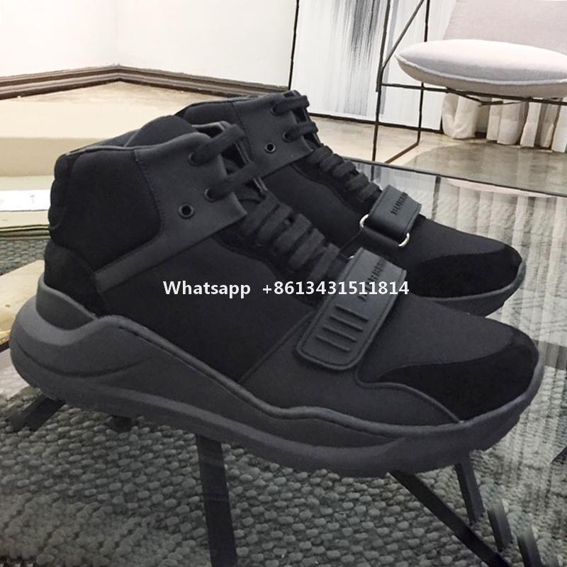 Breathable Mens Boots Gemütlich Luxus-Schuhe Weinlese-Überprüfungs-Baumwoll Sneakers Schuhe De Moda Para Hombre Sports High Top Casual Men Schuhe