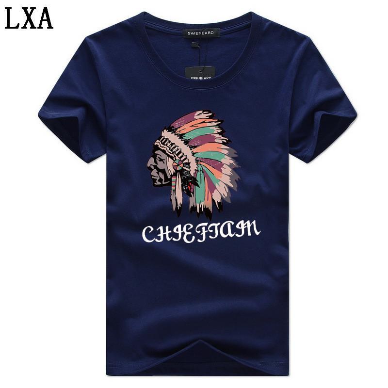 Las nuevas llegadas verano 5XL Hombres camiseta de manga corta de algodón ocasional del Hombre Ropa 5XL camiseta de Hip hop C-2