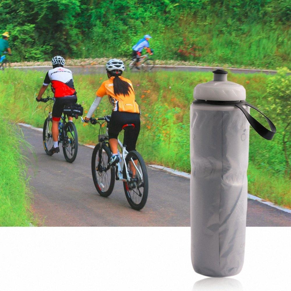 710ml botella con material aislante portátil al aire libre de agua de la bicicleta de la bicicleta Accesorios bici de ciclo de ciclo del Copa hervidor de agua reciclable Bottl CZ9H #