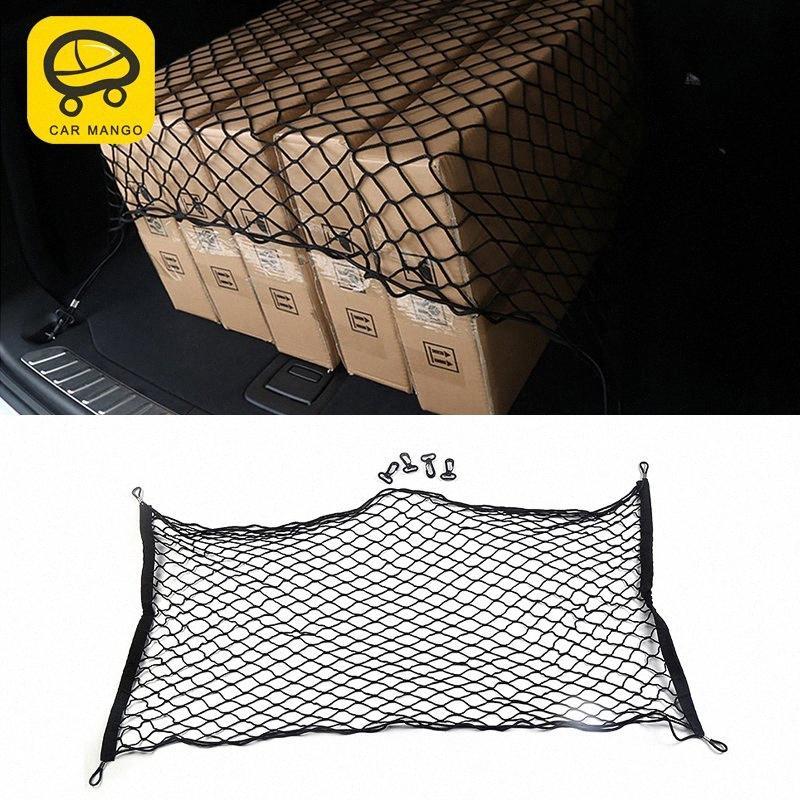 CarManGo para 2018 assento X3 G01 X4 G02 Car Trunk Styling traseira de Cordas rede de malha saco de armazenamento de bolso gaiola Automobile Organizador Interior Orga FFjr #