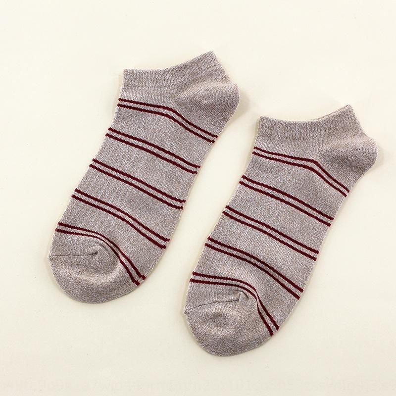 calcetines de los hombres desodorante iHskh Barco y el verano bajo la parte superior del barco del resorte de poco la boca absorbente de sudor y otoño deportes de los hombres de algodón calcetines de moda