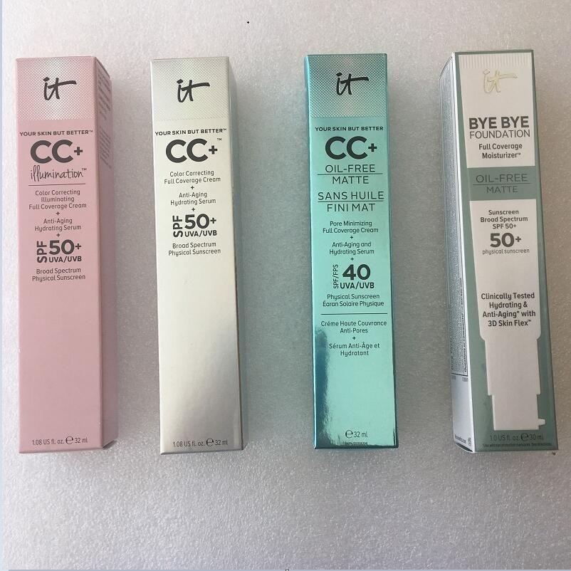 Arrivo facciata di alta qualità! Trucco Cosmetic Foundation Creams Concealer Media / Light Face Primer Maquillage Brand Makeup Foundation