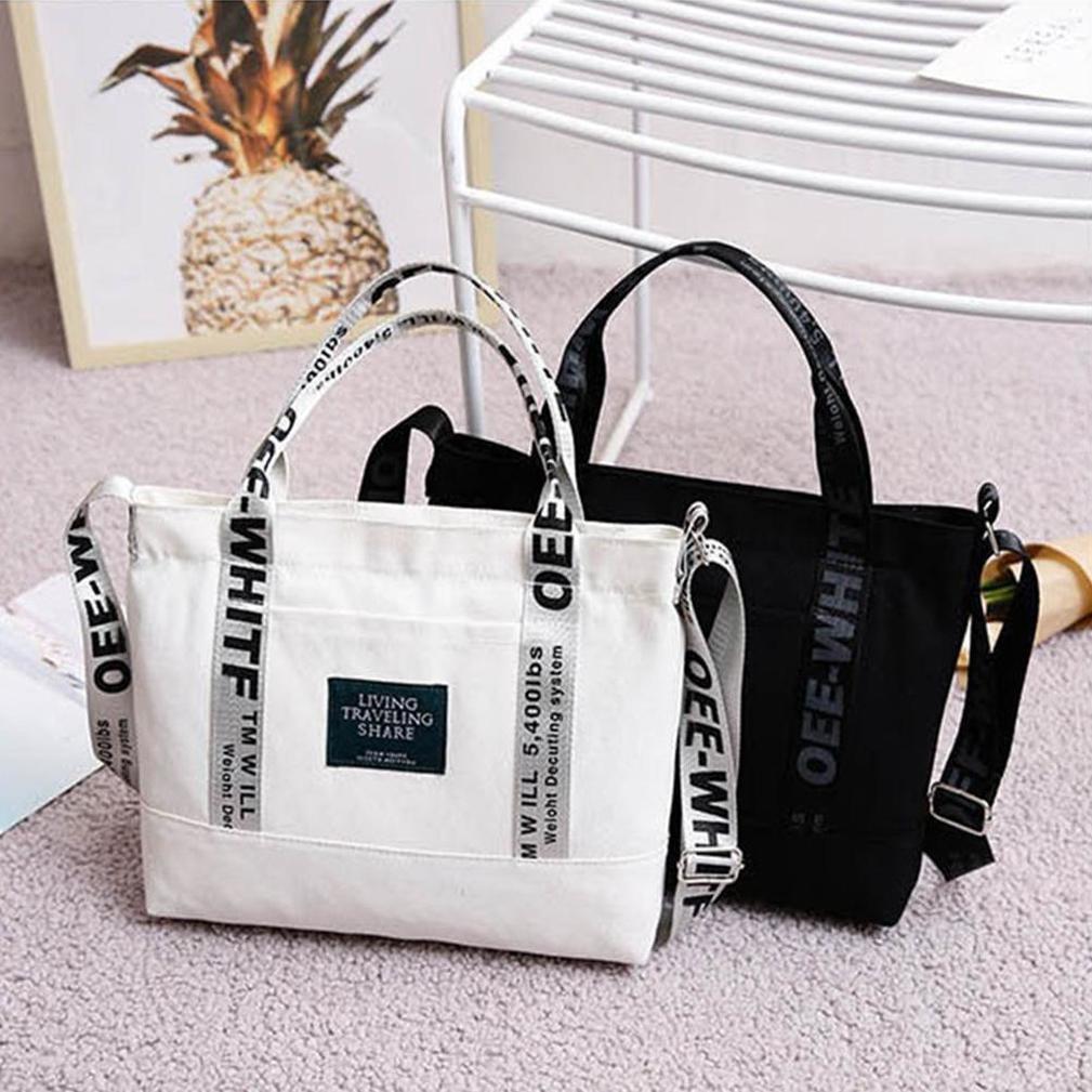 Женщины Портативный Холст одного плеча мешок Модные путешествия Crossbody Сумки Casual Простой Сумка большой емкости сумки